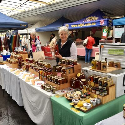 Grandma Bees at Gosford Farmers Markets, NSW, Central Coast
